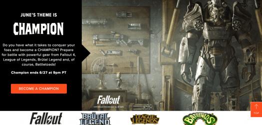 Loot Gaming June 2017 Theme Spoilers + Coupon Code