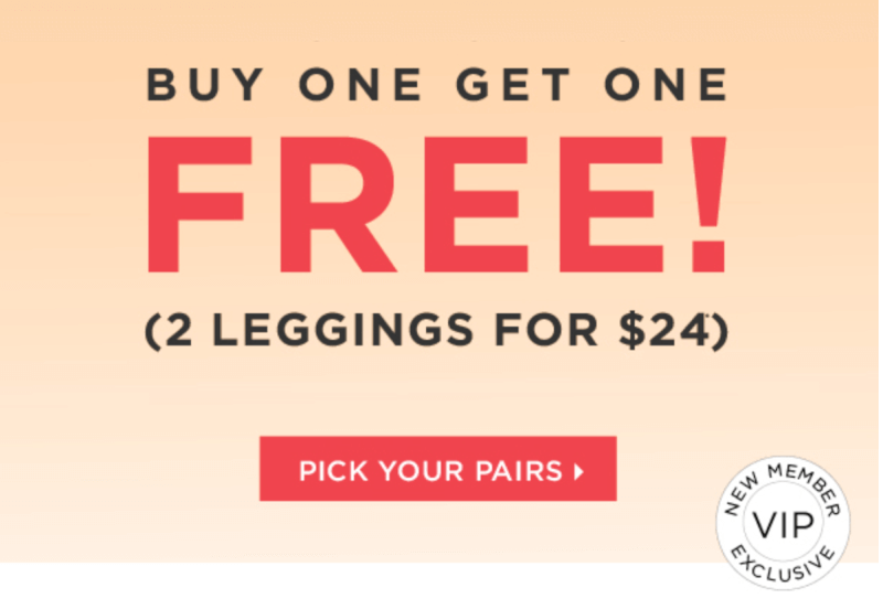 Fabletics June 2017 Selection Time + 2 for $24 Leggings Offer or $19 First Outfit