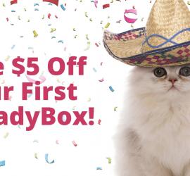 CatLadyBox Coupon Code - $5 Off First Box!