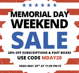 COCOTIQUE Memorial Day Coupon Code - Save 20% Off All Subscriptions