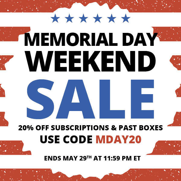 COCOTIQUE Memorial Day Coupon Code – Save 20% Off All Subscriptions