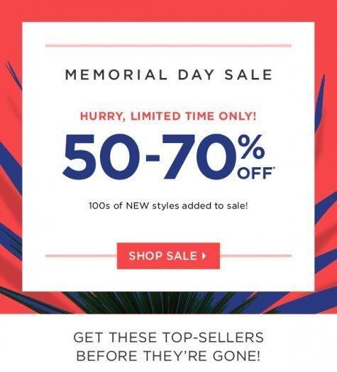 Fabletics Memorial Day Sale!