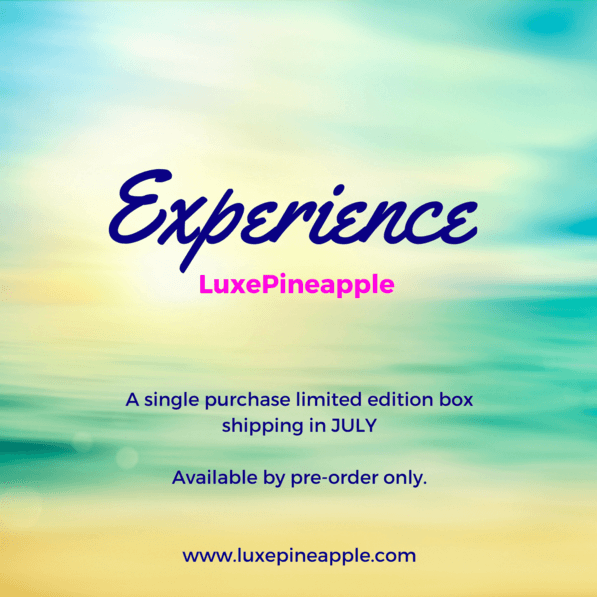 Luxepineapple experience lp limited edition box on sale for Gracious home promo code