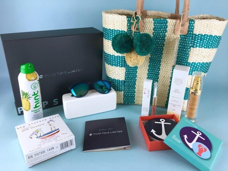 POPSUGAR Must Have Box Summer 2017 Limited Edition Box Giveaway!  (CLOSED)