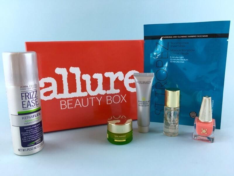 Allure Beauty Box Review – June 2017