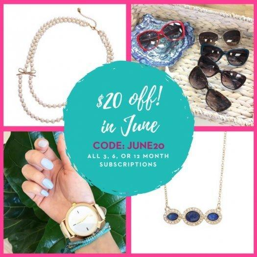 Your Bijoux Box $20 Off 3, 6 or 12-month Subscriptions