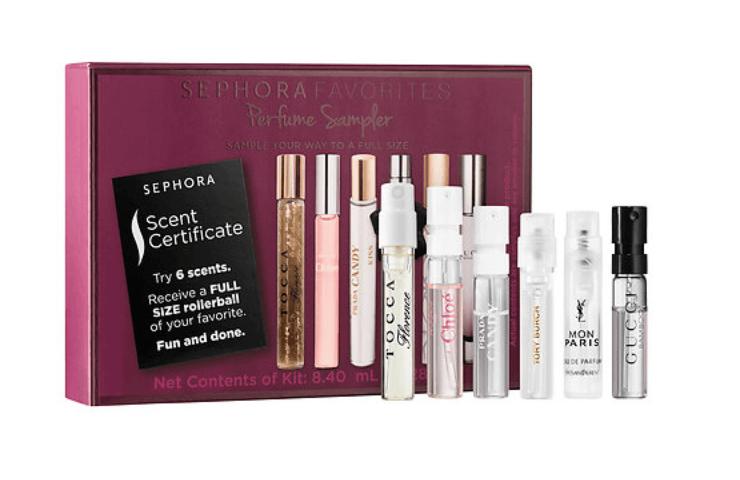 Sephora Favorites All New Perfume Traveler Sampler Coupon Codes