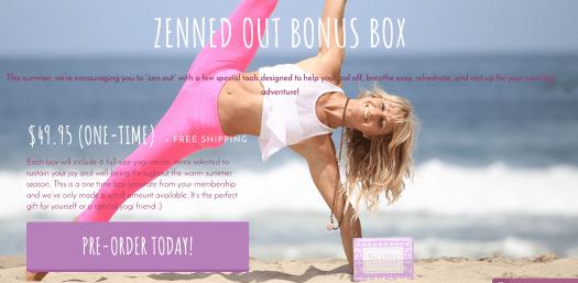 Yogi Surprise Zenned Out Bonus Box – On Sale Now + Spoilers!