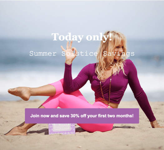 Yogi Surprise Flash Sale – 30% First Two Months + 10% Off For Life