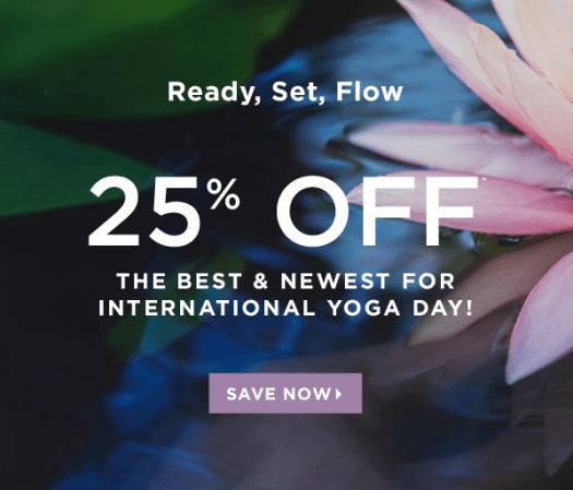 Fabletics International Yoga Day Sale – Save 25%!