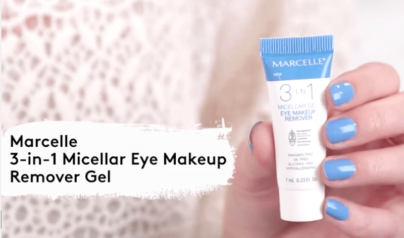Marcelle eye makeup remover