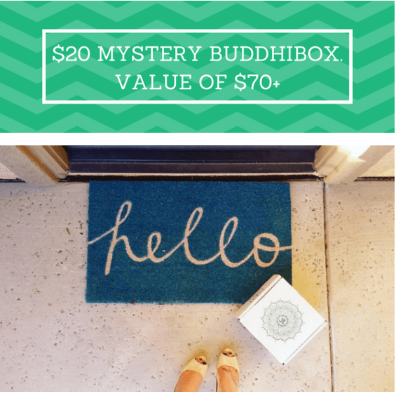 BuddhiBox Mystery Box – Now Available!