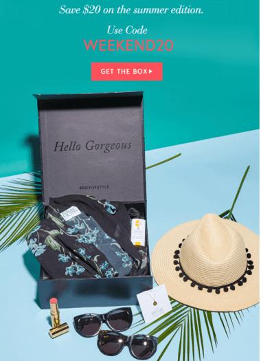 Box of Style by Rachel Zoe $20 Off + Summer 2017 FULL SPOILERS