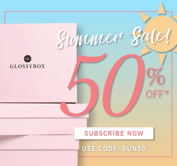 Glossybox coupon code
