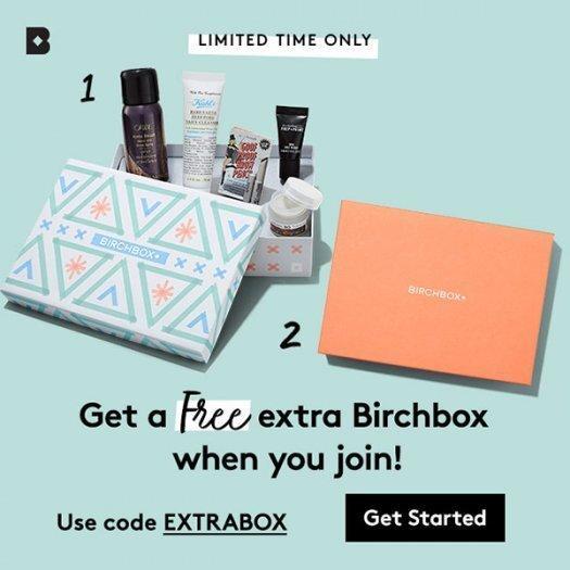 Birchbox Coupon – Free Bonus Box with New Subscriptions