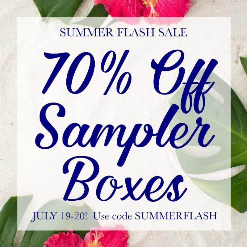 MissionCute 70% Off Sampler Boxes Sale!