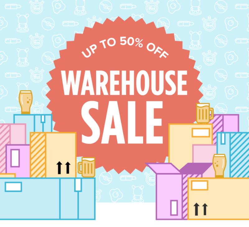 Quarterly Co. Summer Warehouse Sale!