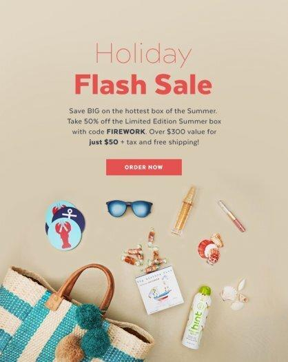 POPSUGAR Must Have Summer Limited Edition Box Coupon Code – Save 50%