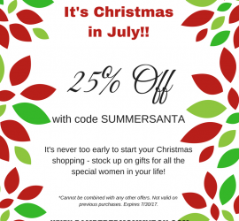 Pampered Mommy Box Christmas in July Sale!