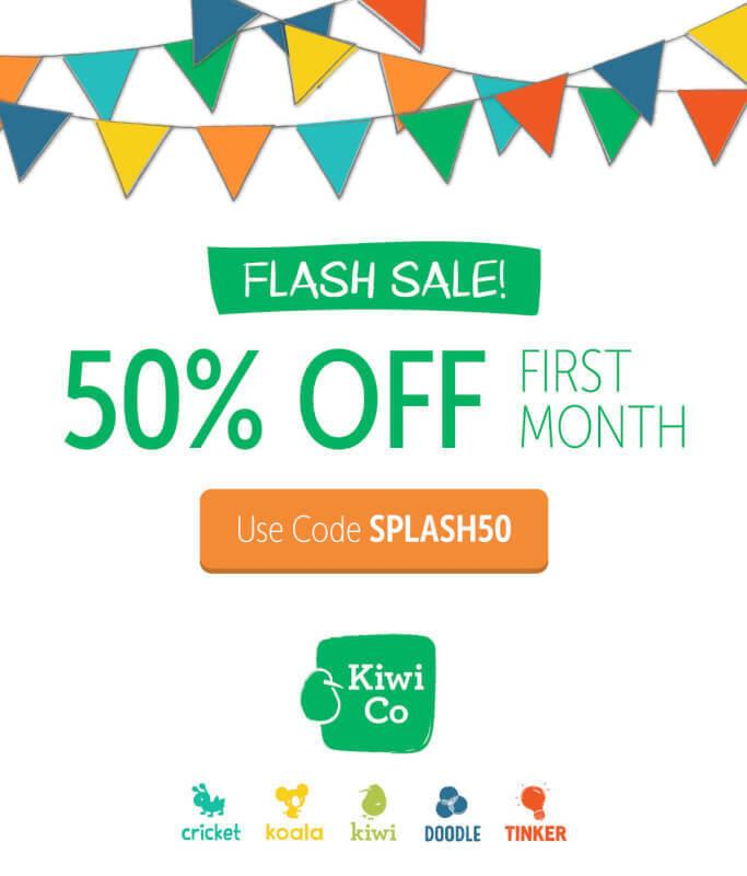 KiwiCo Coupon Code – 50% Off First Month