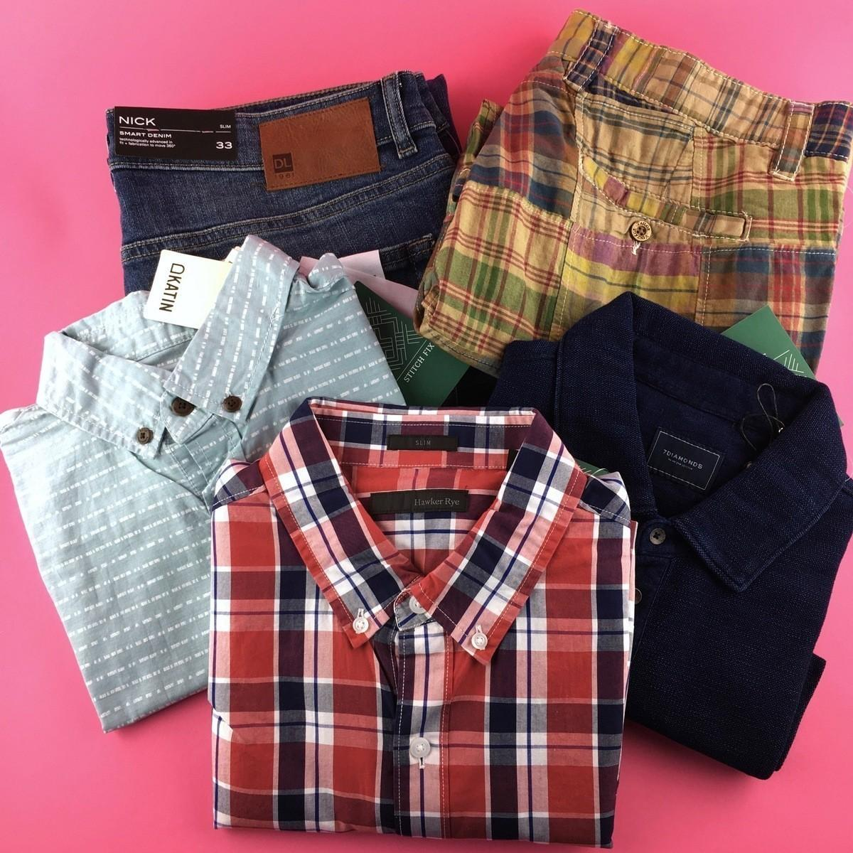 Stitch Fix Men Review – July 2017