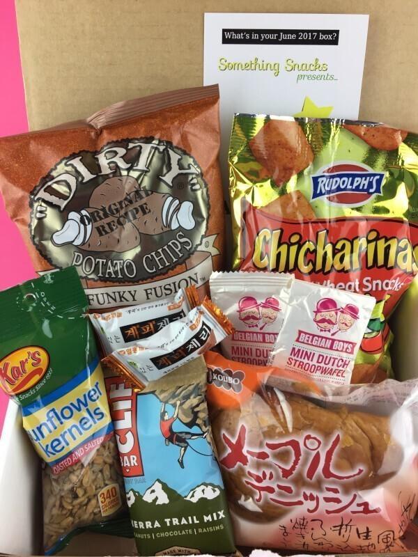 Something Snacks Review – June 2017