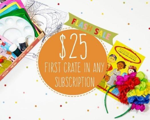 GIRLS CAN! CRATE $25 Flash Summer Sale!