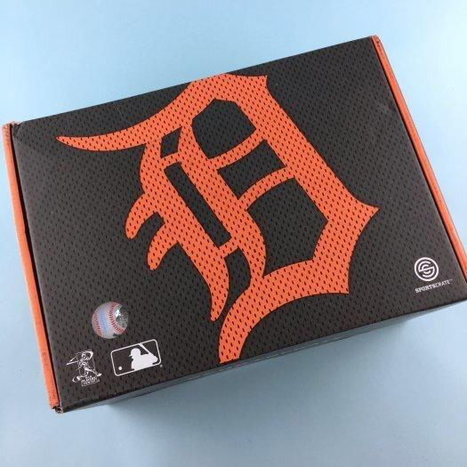 Sports Crate MLB Subscription Review (Detroit Tigers) – June 2017