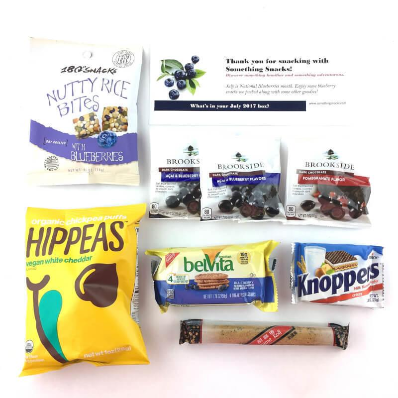 Something Snacks Review – July 2017
