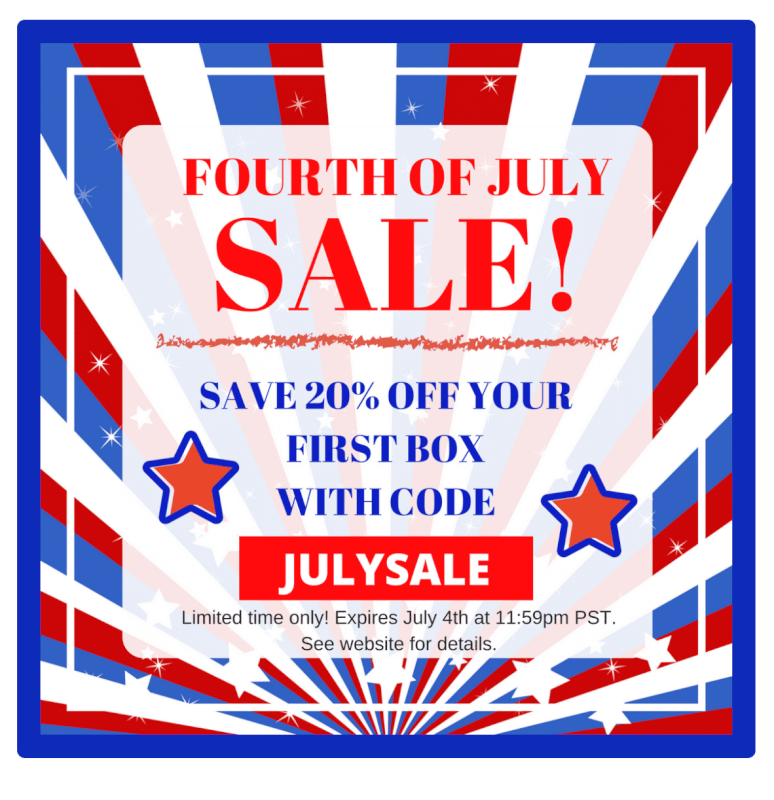 May The 4th Be With You Deals: 4th Of July Subscription Box Sales / Coupon Codes