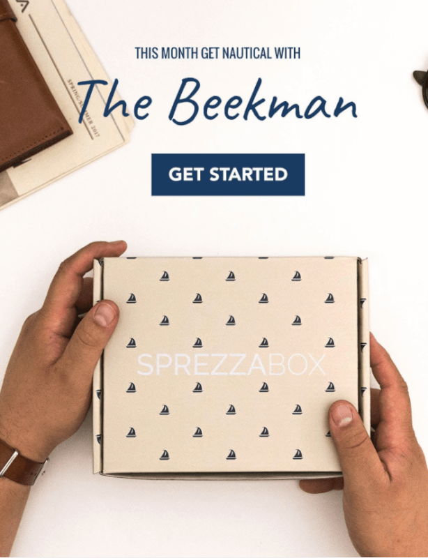 SprezzaBox Coupon Code – Two Boxes for $20!