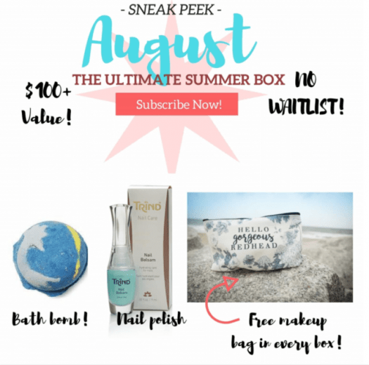 How to be a Redhead August 2017 **Additional Spoilers**!