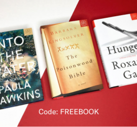 Book of the Month Free Book with New 2-Month Subscription