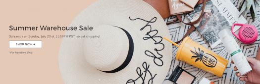 FabFitFun Summer Warehouse Sale – Last Chance