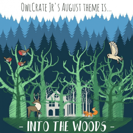 OwlCrate Jr. August 2017 Theme Spoiler + Coupon Code