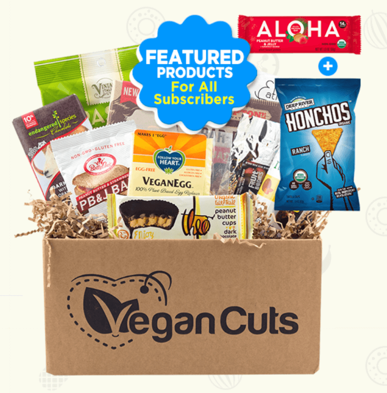 Vegan Cuts Snack Box August 2017 Spoilers