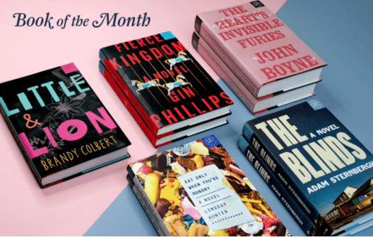 Book of the Month August 2017 Reveal + Selection Time + Coupon Code