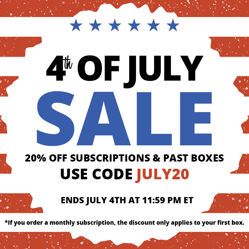 COCOTIQUE 4th of July Coupon Code – Save 20% Off All Subscriptions
