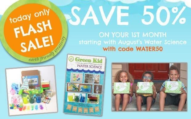 Green Kid Crafts Coupon Code – Save 50% Off First Box!
