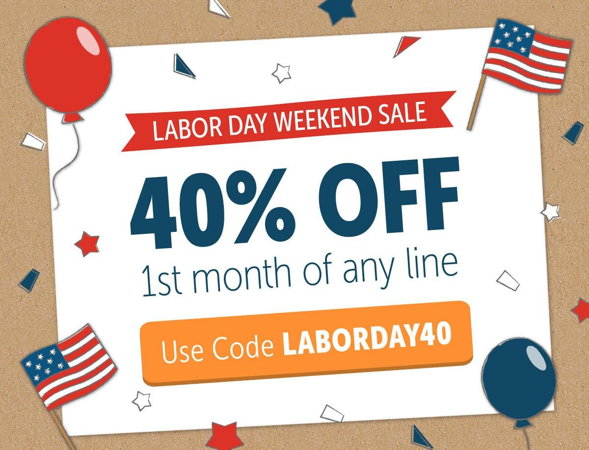 KiwiCo Labor Day Sale – 40% Off First Month or $10 Off Shop Purchase!