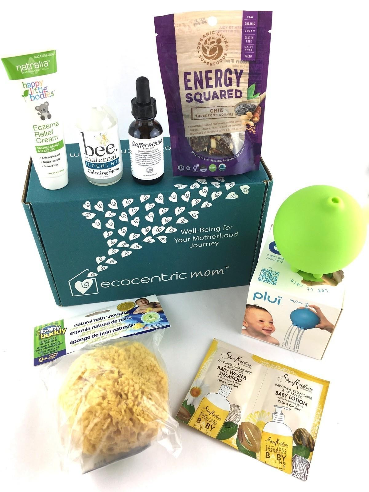 Ecocentric Mom Box Review – August 2017