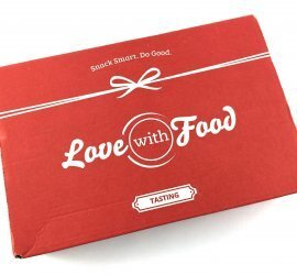 Love With Food Review + Coupon Code - August 2017 Tasting Box