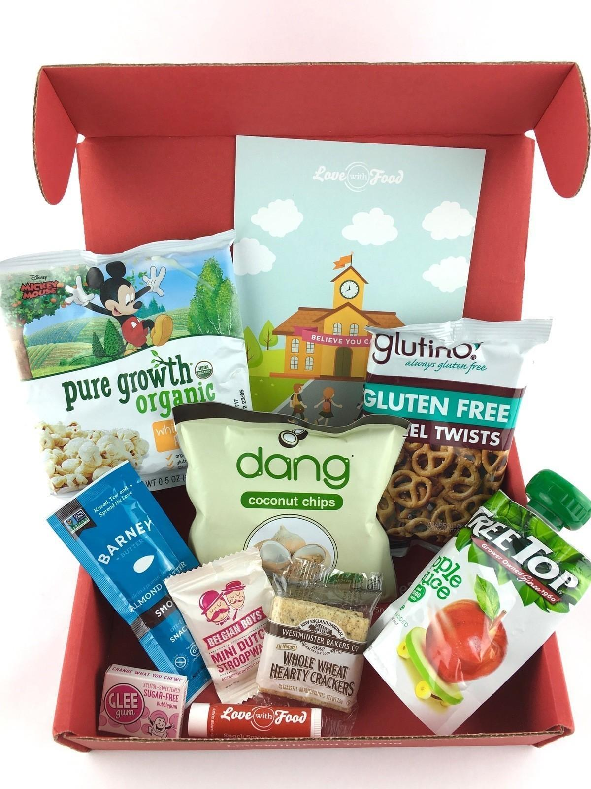 Love With Food Review + Coupon Code – August 2017 Tasting Box