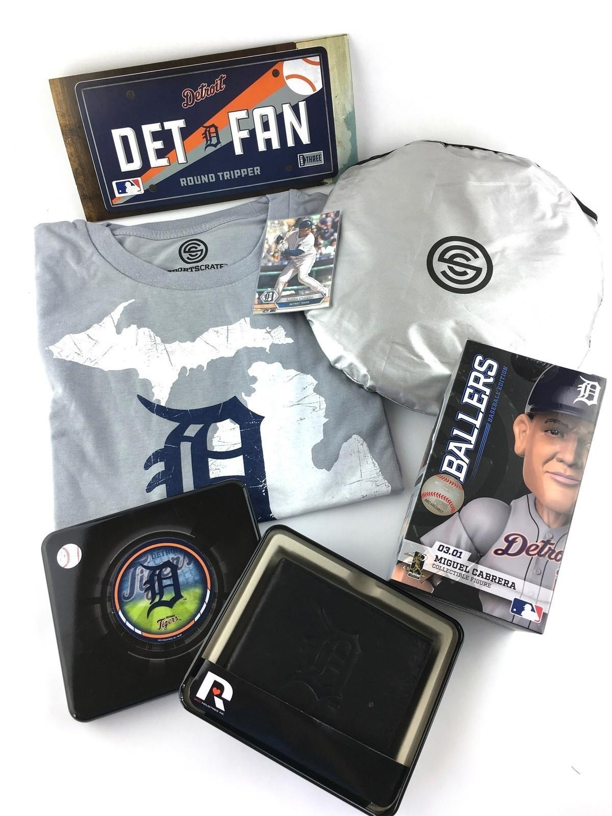 Sports Crate MLB Subscription Review (Detroit Tigers) - July 2017 ...