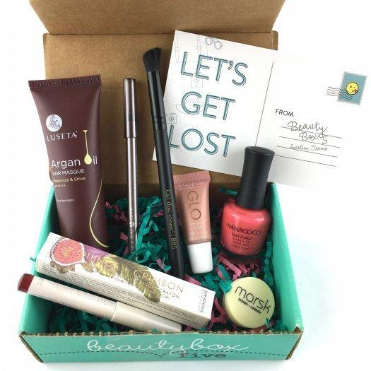 Beauty Box 5 Review + Coupon Code – July 2017