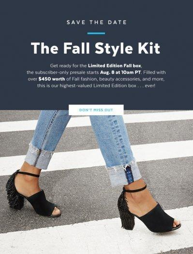 POPSUGAR Must Have Fall 2017 Limited Edition Box – Presale Starts NOW!