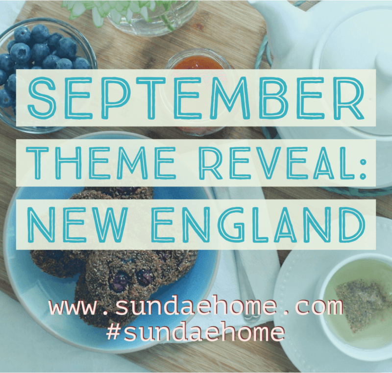 Sundae Home September 2017 Theme Spoilers + Coupon Code!