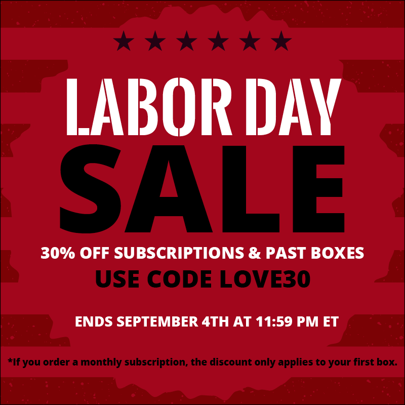 COCOTIQUE Labor Day Sale – Save 30% Off All Subscriptions