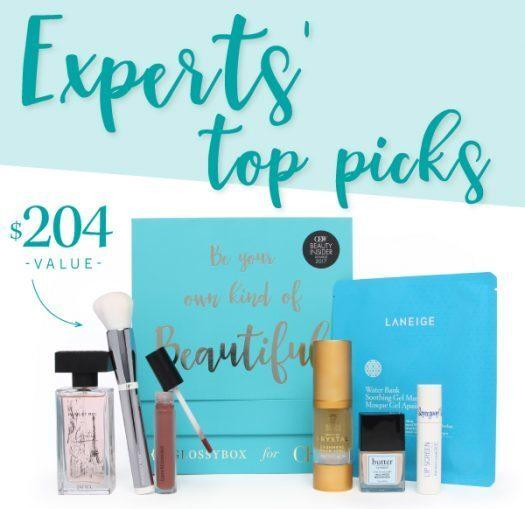 GLOSSYBOX for CEW Limited Edition Box **Full Spoilers