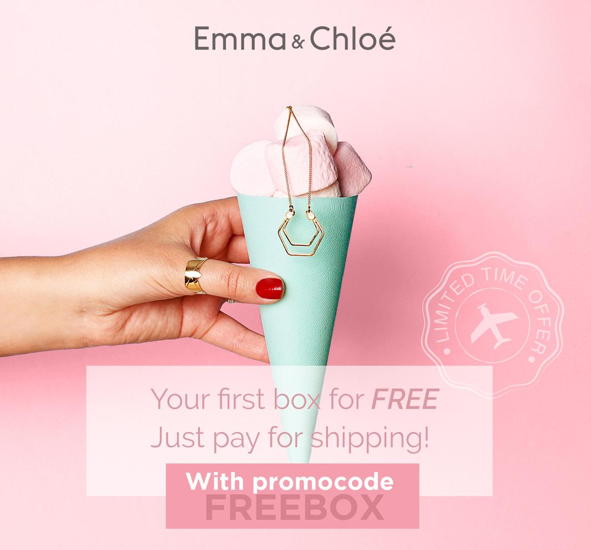 Emma & Chloe – First Box FREE (You Pay Shipping) (Last Day)!